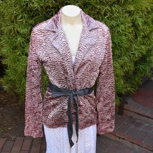 WOMEN'S CHENILLE JACKET RUTH SIZE 6 ANTHROPOLOGY